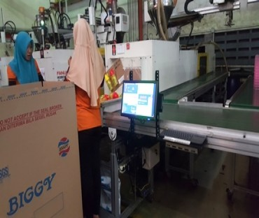 Production Monitoring System, powered by Pro ST, PT Biggy Cemerlang